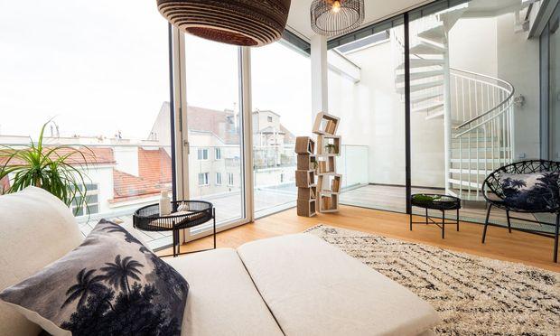 Wohnzimmer im Ambassy