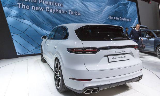 Illegale Abschalteinrichtung Rückruf von 60.000 Porsche angeordnet