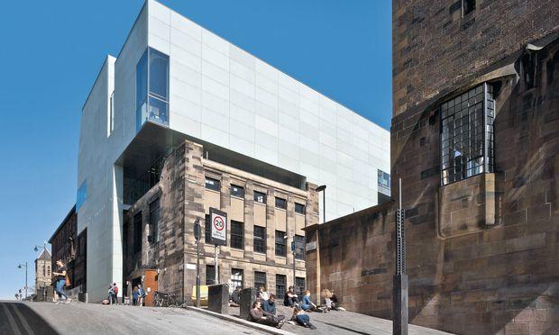 Kaderschmiede. Die Glasgow School of Art (Anbau: Steven Holl) bringt Größen hervor.