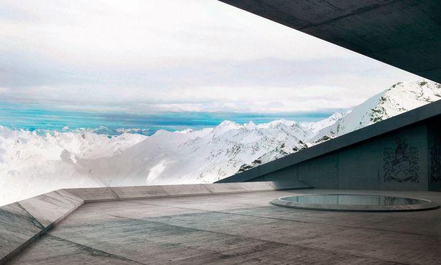 Weit. Ausblicke sowohl zur belebten Gletscherstraße als auch in die stillen Berge bei Vent.