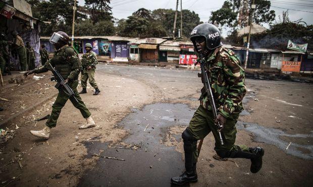 Unruhen in Nairobi