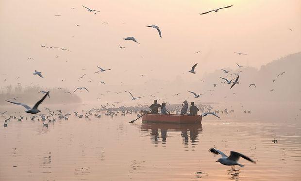 Smog in Indien.