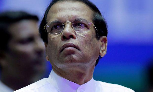 Präsident Maithripala Sirisena sucht Henker.