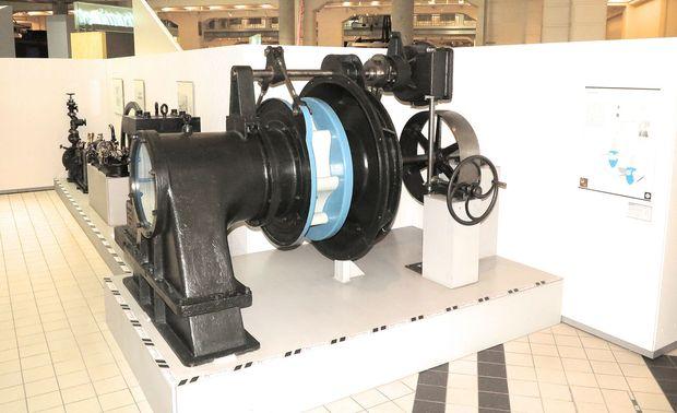 Vom Fabrikseinsatz direkt ins Technische Museum: die erste Kaplan-Turbine.