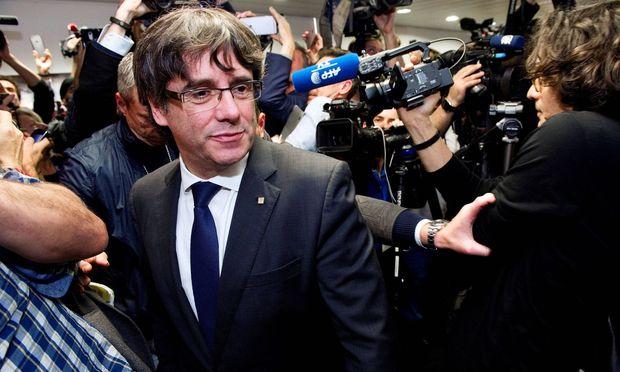 Carles Puigdemont erschien in Madrid nicht vor Gericht.