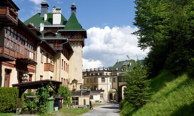 Das Südbahnhotel wird seit Jahren zum ersten Mal wieder kulturell bespielt.  / Bild: (c) Die Presse (Clemens Fabry)