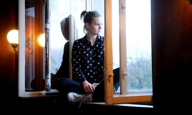 """""""In der ersten Klasse Volksschule habe ich rebelliert. Ich war nicht darauf vorbereitet, mich unterzuordnen"""", erinnert sich Katharina Klar."""