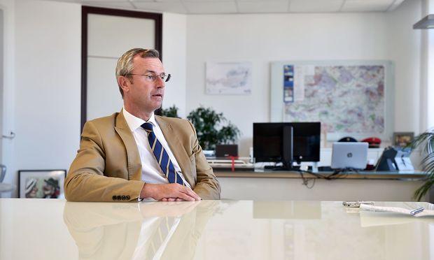 Er hielt sich nicht immer an die Verkehrsregeln: Minister Norbert Hofer.