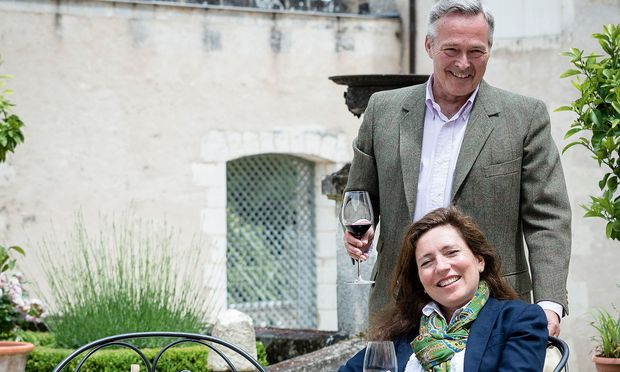 Wofür sich das Ehepaar Christine und Karl-Friedrich Scheufele gerne Zeit nimmt: ihr Weingut in Bergerac.