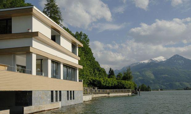 Das Haus der Familie Brettermeier in Zell am See.