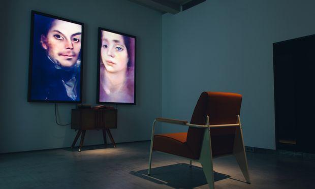 """KI-generiert: """"Memories of Passersby I"""" ist derzeit im Kunstverein Hannover."""