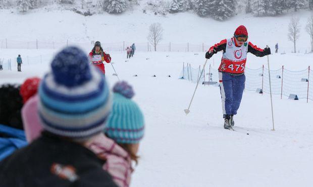 Loipen und Stadion in Ramsau sind bereit, am Fuß des Dachsteins werden die Langläufer und Schneeschuhläufer ihre Goldträume verwirklichen.