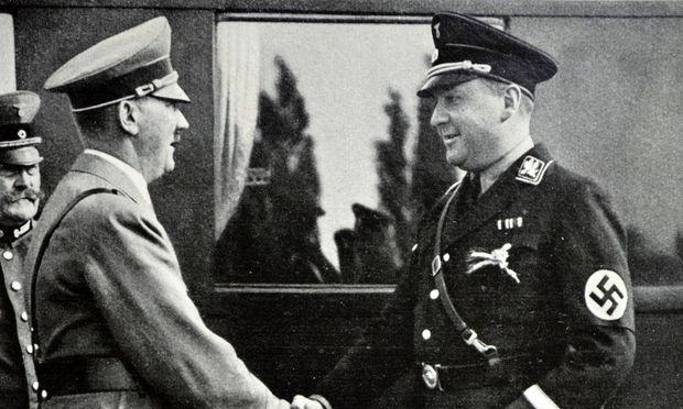Richard Walther Darré mit Adolf Hitler.