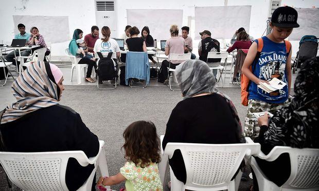 Das griechische Flüchtlingslager Malakassi