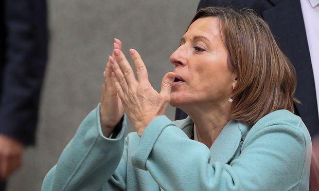Haft für katalanische Parlamentspräsidentin gefordert