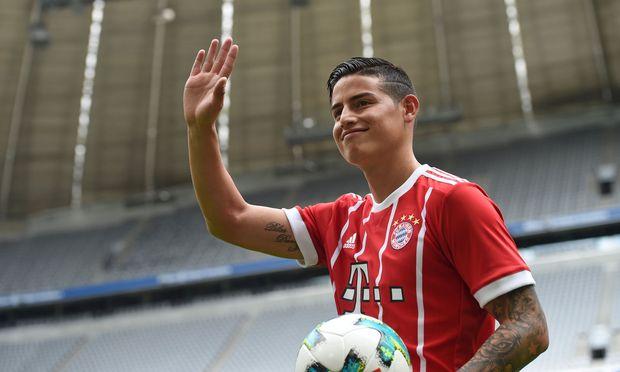 Neuzugang James Rodr´ıguez, 26: Hoffnungsträger der Münchner.