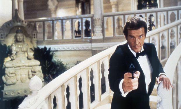 "Moore in ""James Bond 007 – Octopussy"", aus dem Jahr 1983. / Bild: imago/AD"