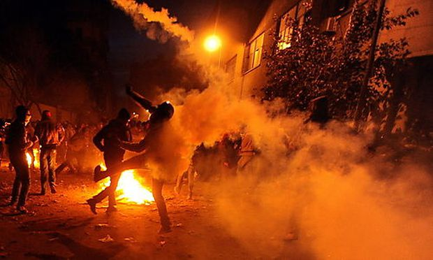 EGYPT SOCCER CLASHES IN CAIRO