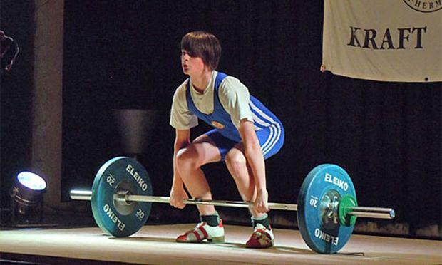 Februar Ball Gewichtheber