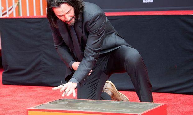 Seit 2005 hat Keanu Reeves einen Stern auf dem Walk of Fame.