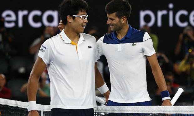 Novak Djokovic scheitert an Chung Hyeon