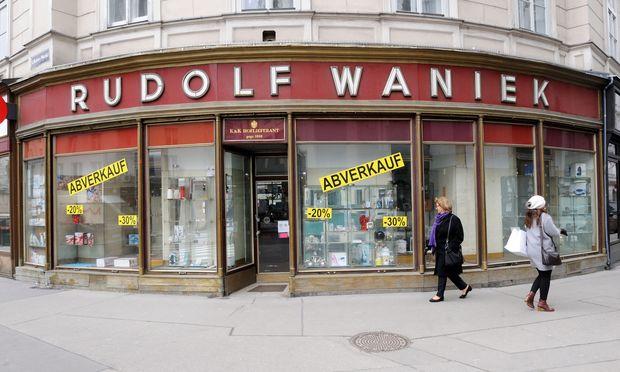 25478fe826b44f Ladenschluss nach über 100 Jahren « DiePresse.com