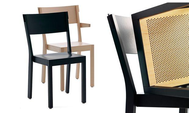 Der schwedische Hersteller Gärsnäs stellt seine Akustik-Stühle in Schulen, Kirchen und Lokale.