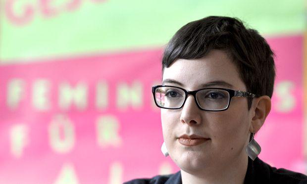 Martina Gasteiger ist die Spitzenkandidatin der Gras bei der ÖH-Wahl.