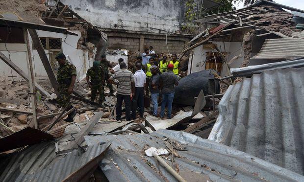 Eine weitere Detonation ereignete sich in der Nähe des Dehiwala Zoos bei Colombo