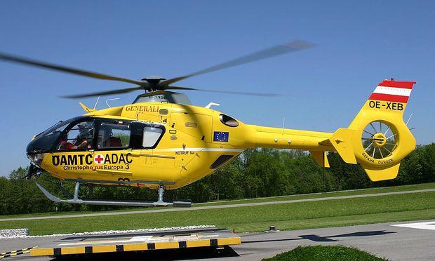 Christophorus-Helikopter im Einsatz. / Bild: APA