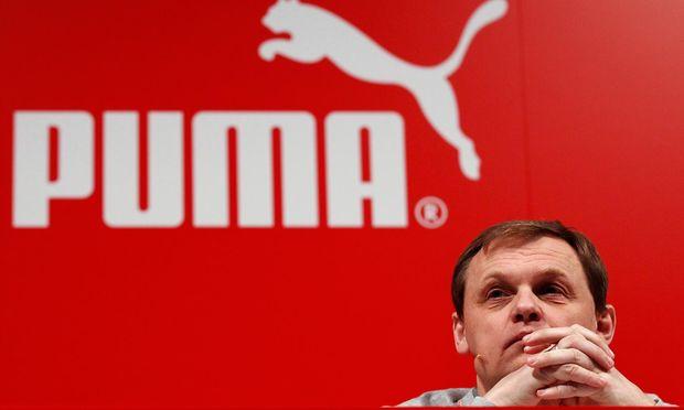 Bjørn Gulden, Chef des deutschen Sportartikel- konzerns Puma. Das Geschäft des Unternehmens läuft wie ein Turnschuh.