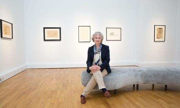 Jane Kallir ist die wichtigste international anerkannte Schiele-Expertin und Autorin des 1990 veröffentlichten Werkverzeichnisses.