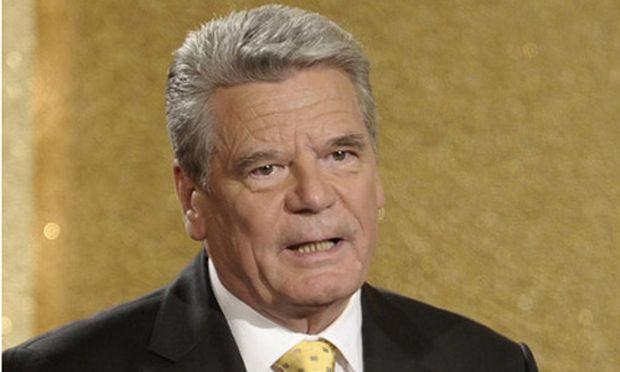 Gruene Kritik Gaucks aeusserungen