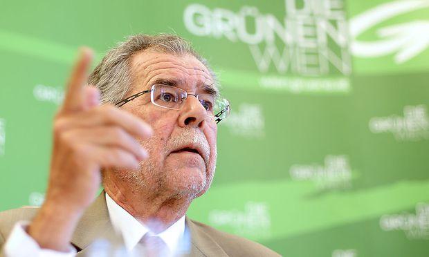 Ex-Grünen-Chef Alexander van der Bellen