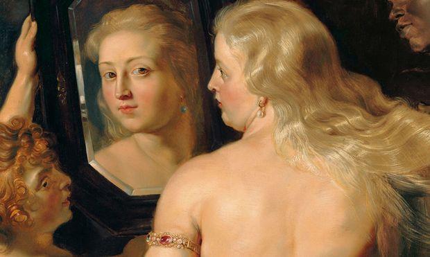 Peter Paul Rubens Venus vor dem Spiegel, um 1614/15 Öl auf Holz