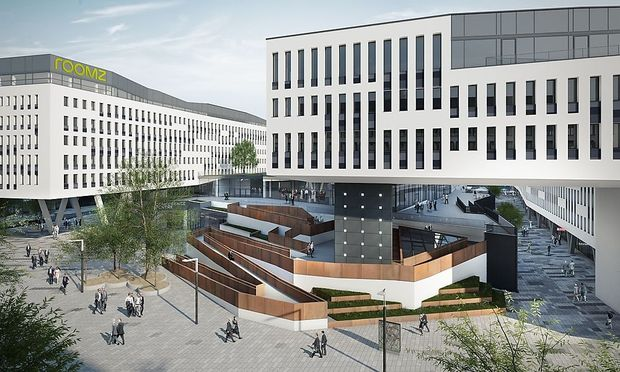 Visualisierung Bank Austria Campus