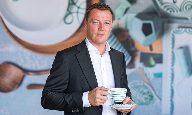 Markus Friesacher, der neue Eigentümer der Gmundner Keramik.