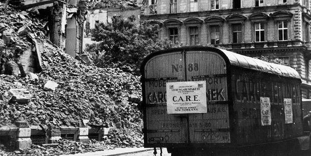 Teile Wiens lagen 1946 noch in Trümmern