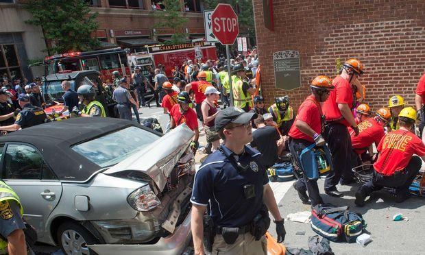 Blutige Ausschreitungen in Charlottesville