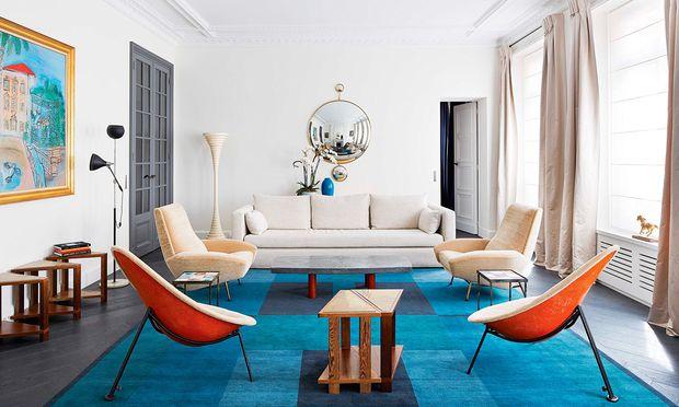 Umstylen. Vintage-Möbel können dem Raum einen ganz neuen Touch geben.