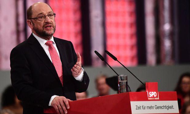SPD-Hoffnungsträger Martin Schulz.