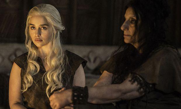 Daenerys kurz vor ihrem ''Trick'' / Bild: (c) HBO