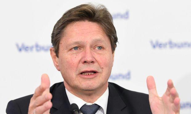 Verbund-Chef Wolfgang Anzengruber erhöht die Gewinnprognose