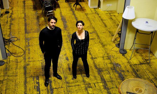 Die Schauspieler Buyraç und Ece