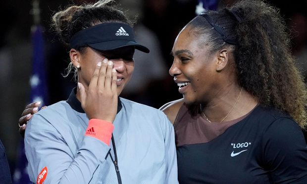 Die junge Japanerin Naomi Osaka hat Tennis-Geschichte geschrieben und  Serena Williams bezwungen