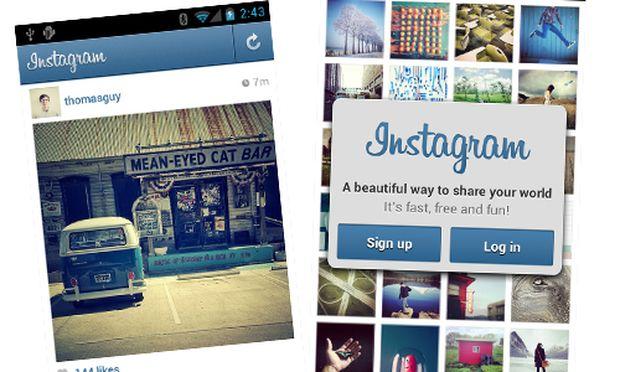 Instagram fuer Android verfuegbar