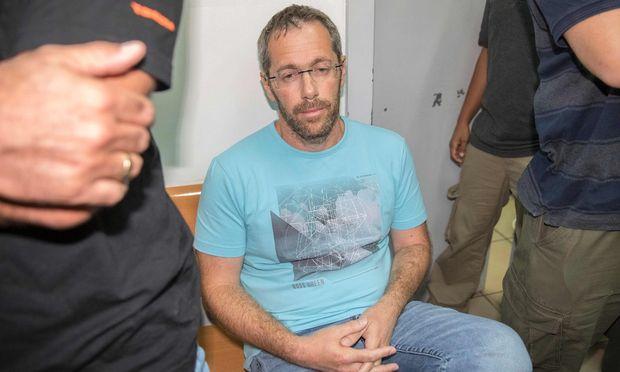Tal Silberstein bei der Verhaftung in Israel