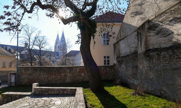 Blick vom Bürgermeistergarten zum Dom