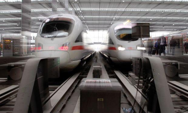 Deutsche Bahn Zugausfaelle wegen