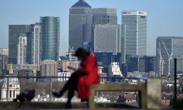 Die Canary Wharf, der Finanzdistrikt in London: Diverse Bankenanleihen aus Europa erwecken wieder Gefallen.